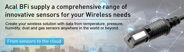Acal BFi supply a comprehensive range of innovation sensors for your Wi-Fi needs